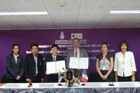 GMOU signature between TSU and CIRAD