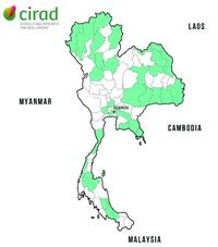 Thailand projects map