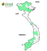 Vietnam projects map
